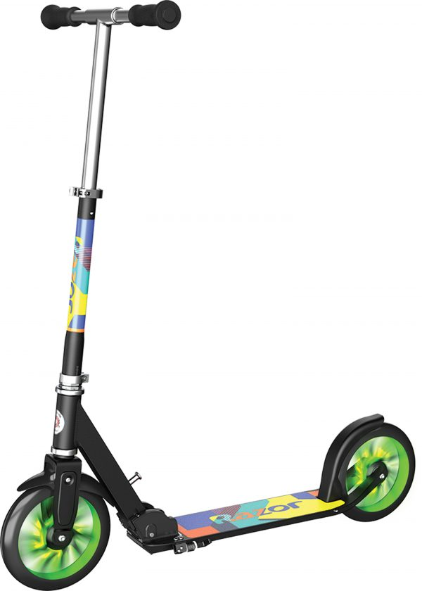 A5 LUX Lighted Scooter - Green